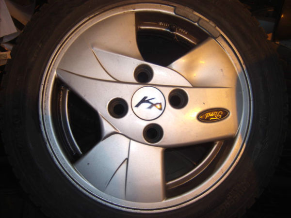 E  B Ford Ka Collection Alloy Wheels Tyres Ford