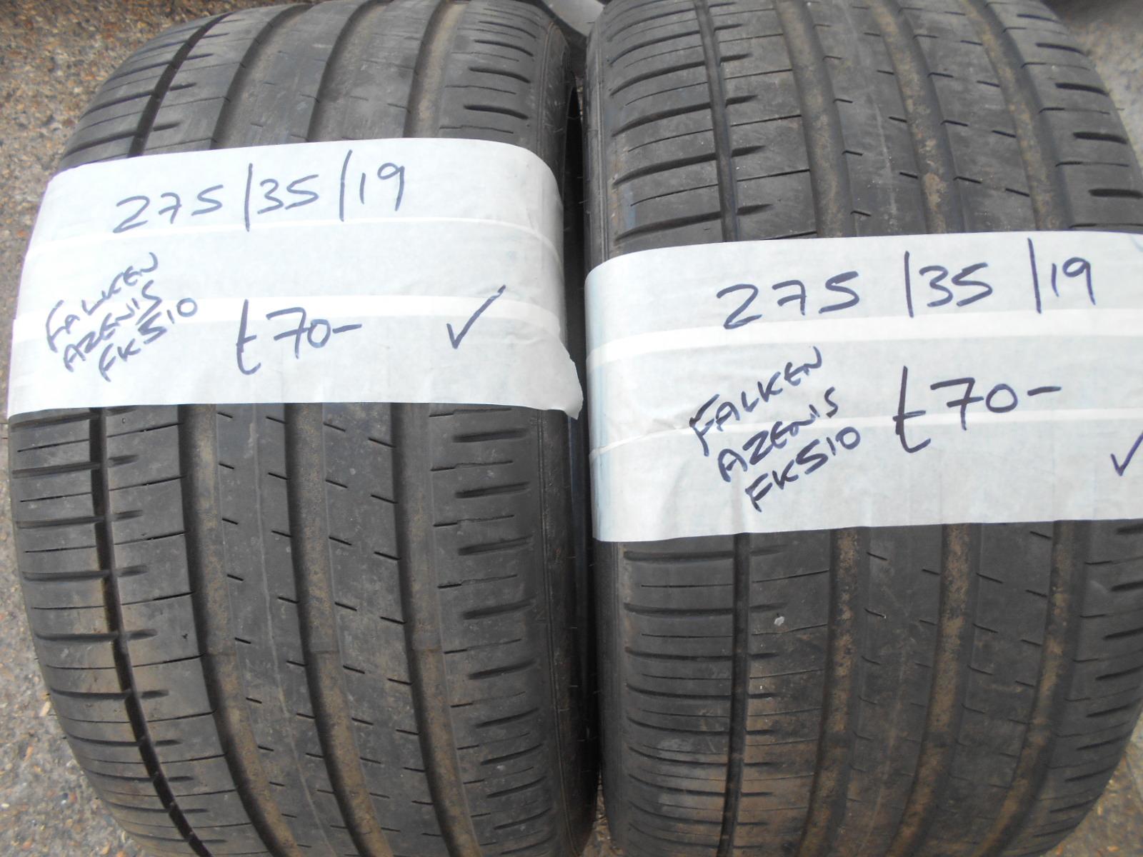 275 35 19 >> 275 35 19 Falken Azenis Fk 510 Tyre 7mm Performance Wheels
