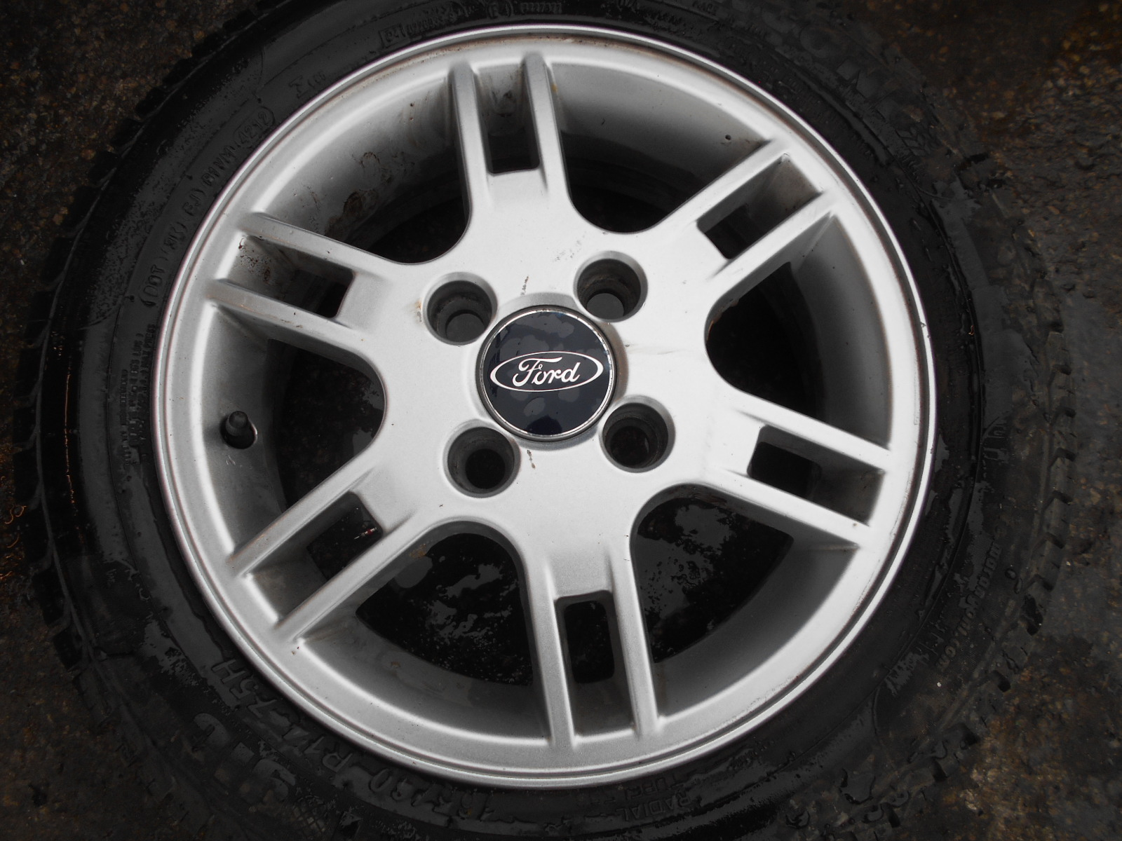 Ford Ka Alloy Wheel Tyre Ford