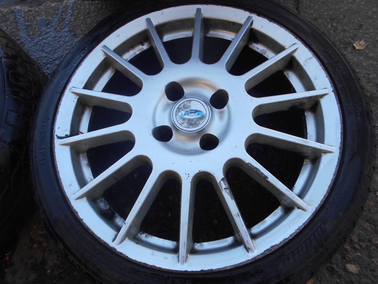 17 Genuine Ford Puma Racing Alloy Wheels Tyres