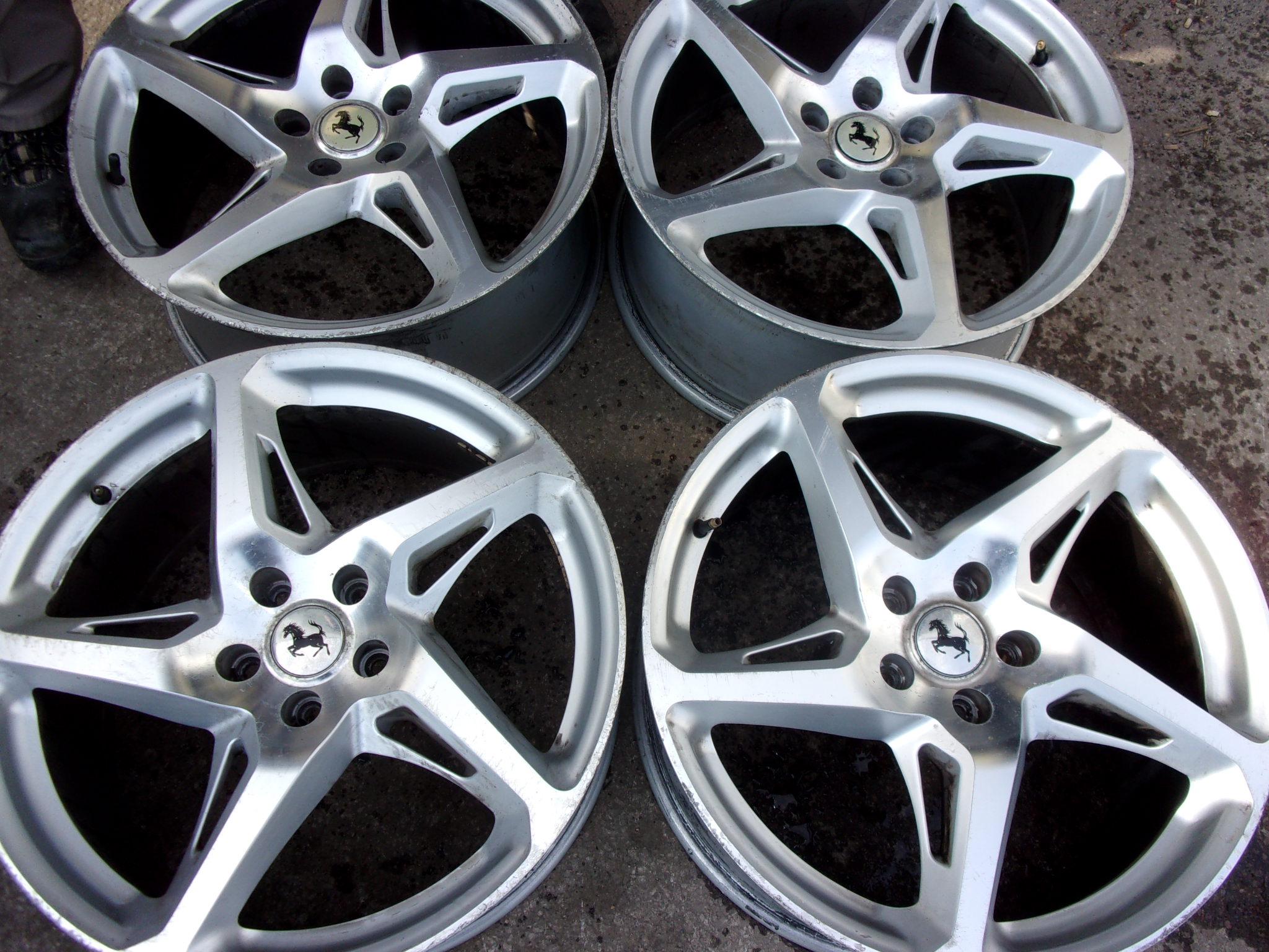 19 Ferrari 458 Style Alloy Wheels New Tyres Performance Wheels And Tyres